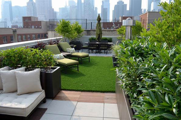 Hells Kitchen Roof Garden New York City NY NY by Jeffrey Erb